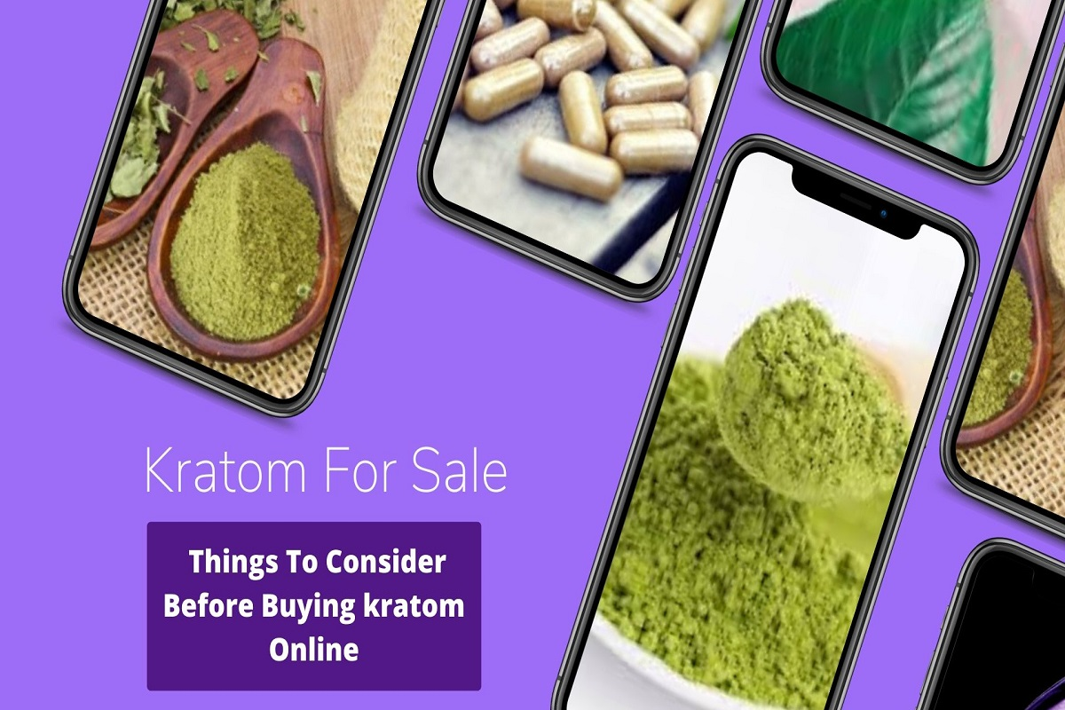Kratom For Sale - Things To Consider Before Buying kratom Online