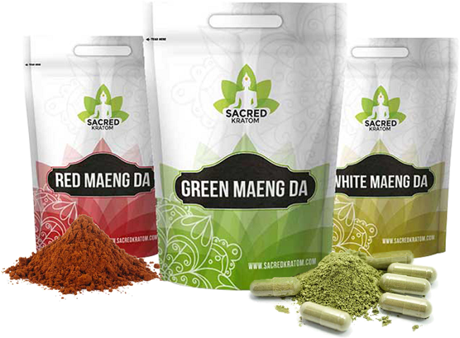 Sacred Kratom Products