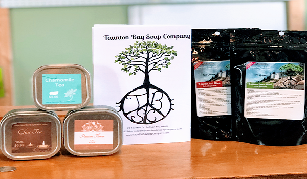taunton bay soap company products