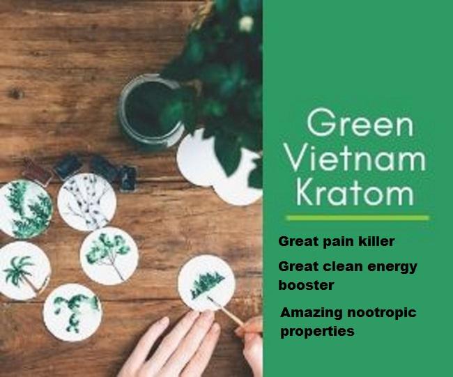 Green Vietnam Kratom Review