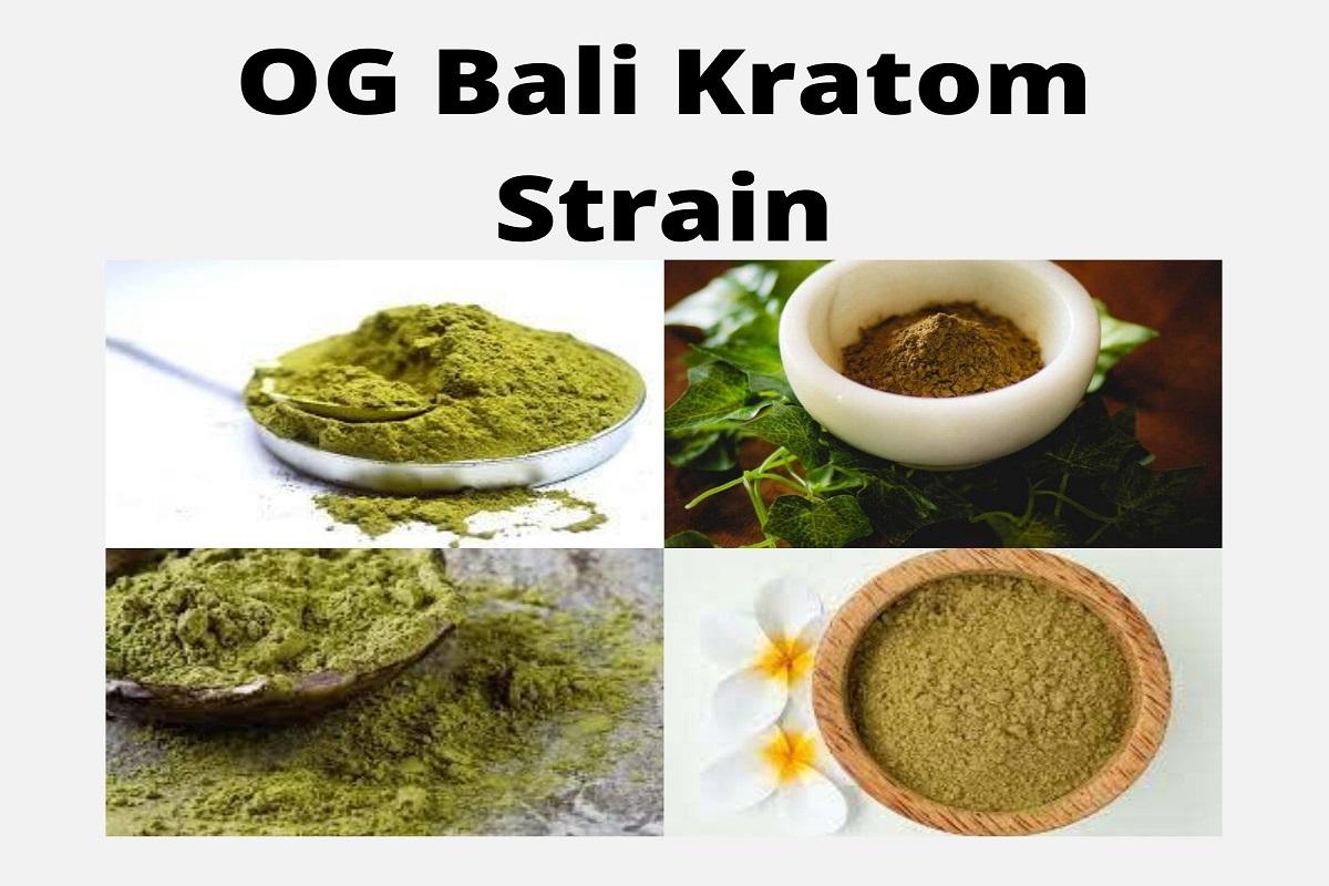 OG Bali Kratom Strain