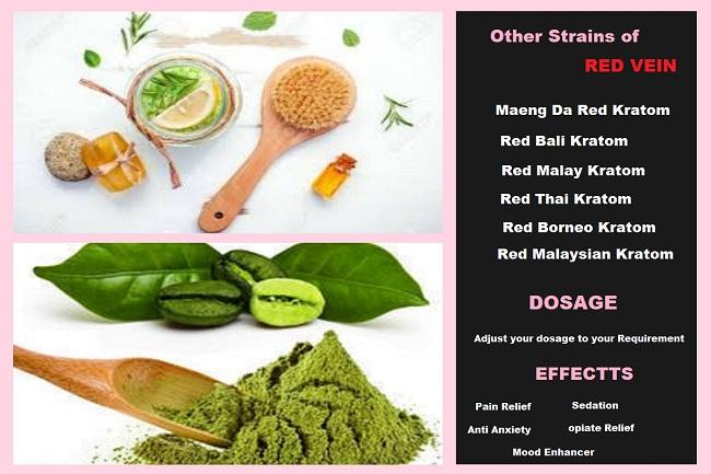Other Strainss OF Red Vein Kratom