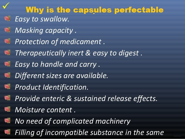 Why is the Caapsule Preferable